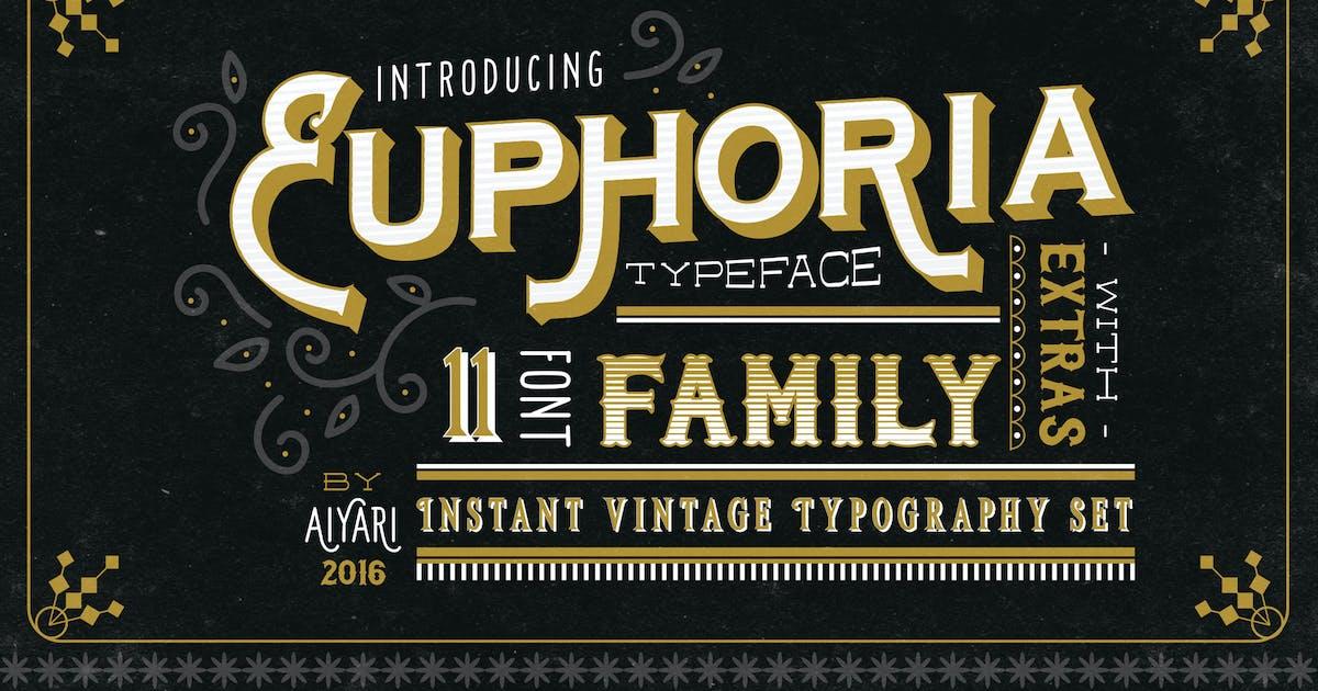 Download Euphoria Font Family by aiyari