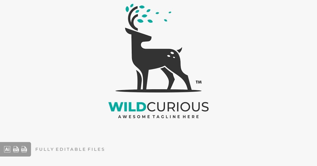 Download Deer with Leaves Logo Template by ivan_artnivora