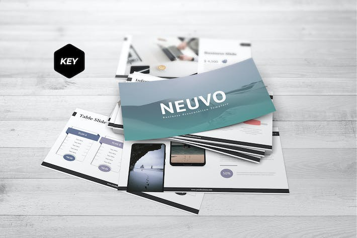 Thumbnail for Neuvo - Keynote Template