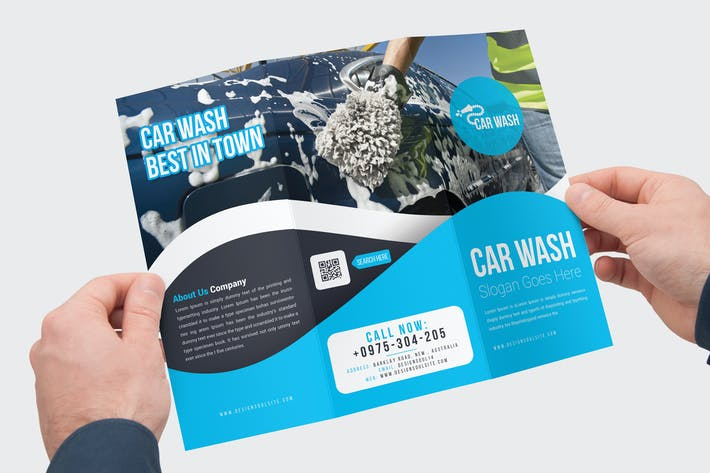 Thumbnail for Car Wash Trifold Brochure