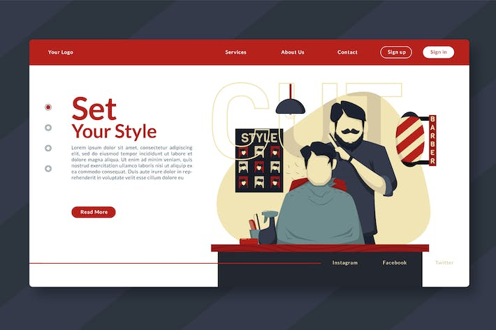 Thumbnail for Set Your Style - Landing-Page GR