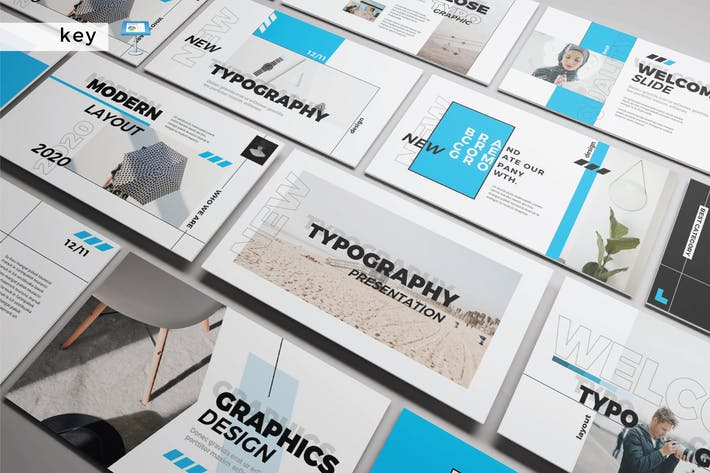 Cover Image For NEW TYPOGRAPHY - Keynote V292