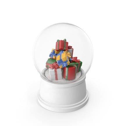 Рождественские подарки Снежный глобус
