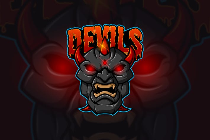Thumbnail for Devil - Mascot & Esport Logo