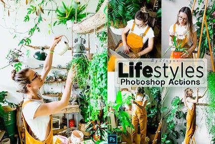 Стили жизни Photoshop Дей