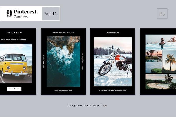 Thumbnail for Pinterest Templates Vol. 11