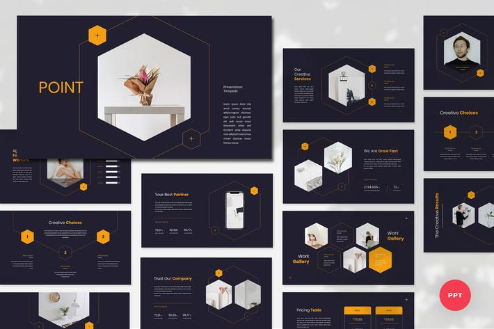 Cover Image For Point - Creative PowerPoint Template