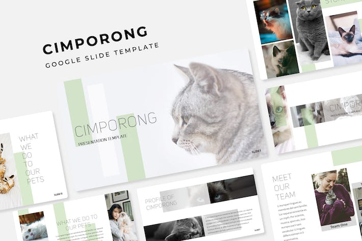 Thumbnail for Cimporong - Google Slide Template