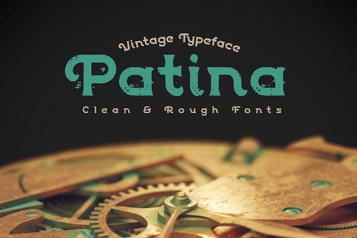 Thumbnail for Patina font