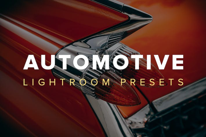 Thumbnail for Automotive Lightroom Presets