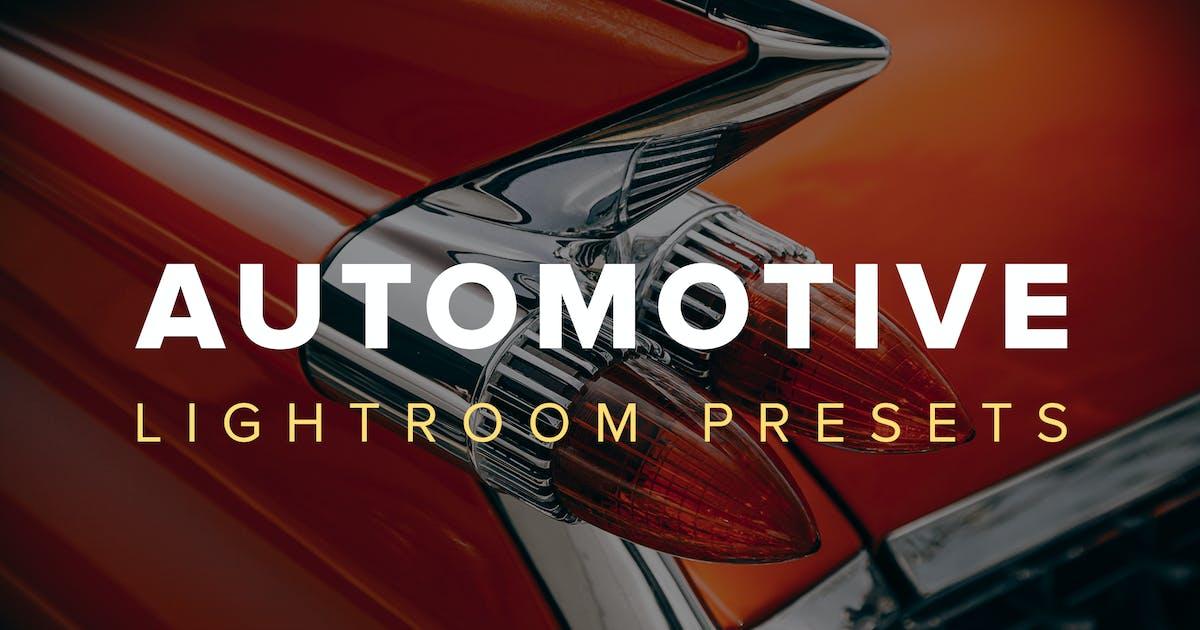 Download Automotive Lightroom Presets by adrianpelletier