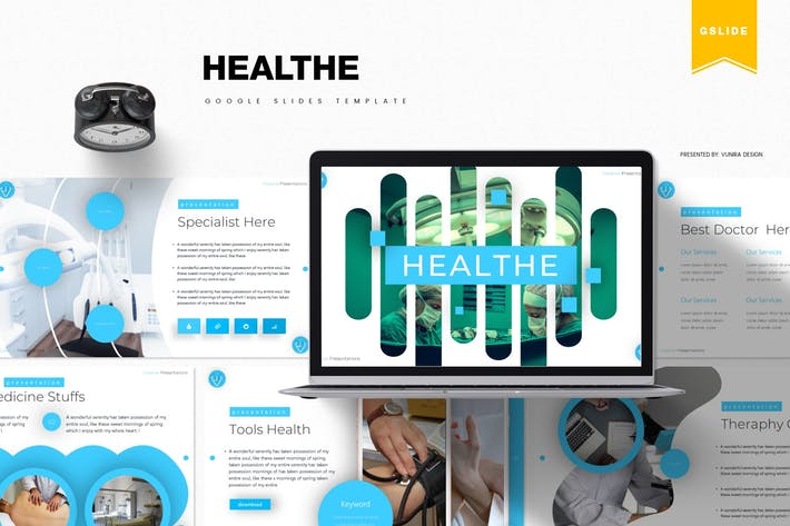 Thumbnail for Healthe | Google Slides Template