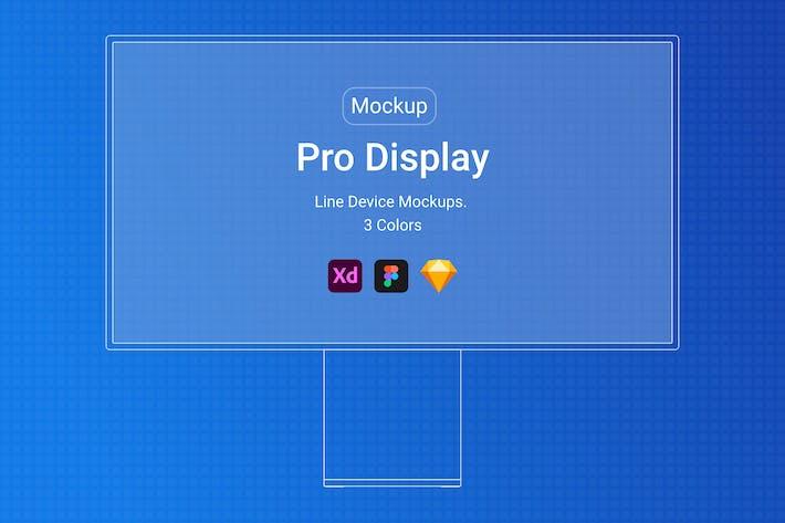 Pro DisplayLine Mockup