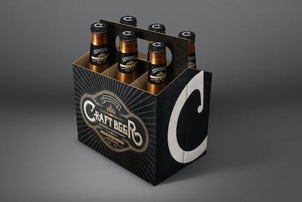 Beer Six Pack Mockup