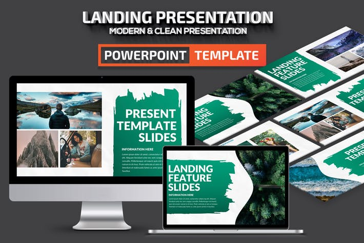 Thumbnail for Landing Powerpoint Presentation