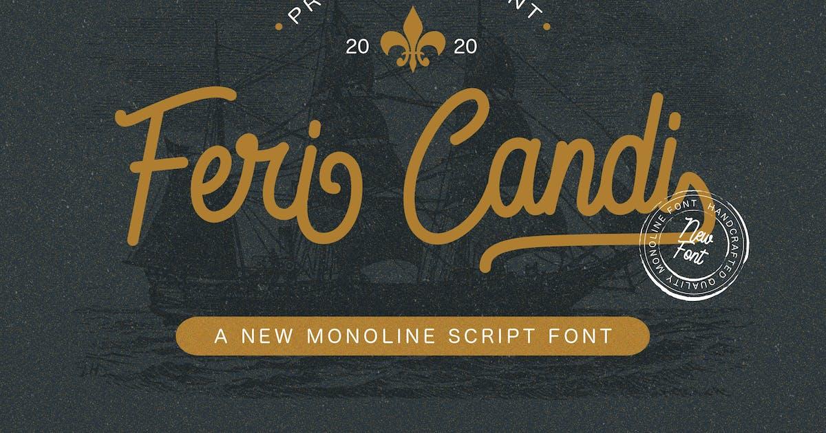 Download Feri Candi - Monoline Script Font by StringLabs