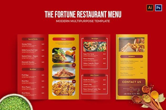 Fortune - Restaurant Menu