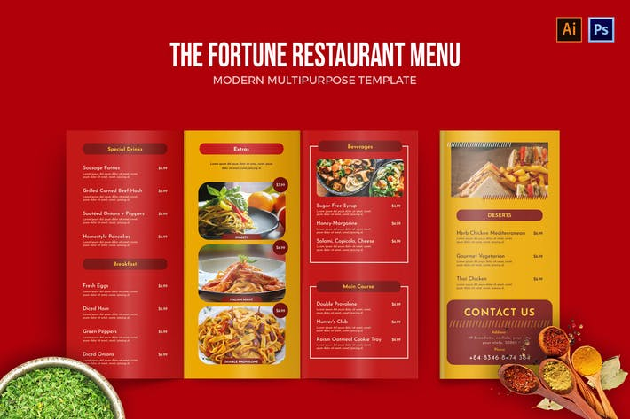 Fortune - Menu Restaurant