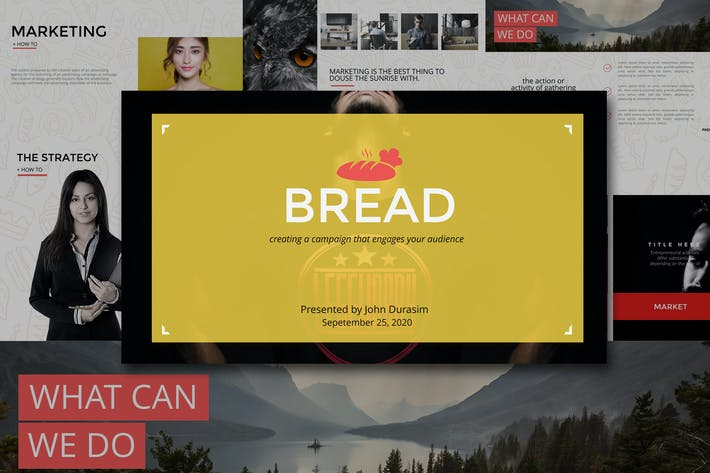 Thumbnail for BREAD Google Slides