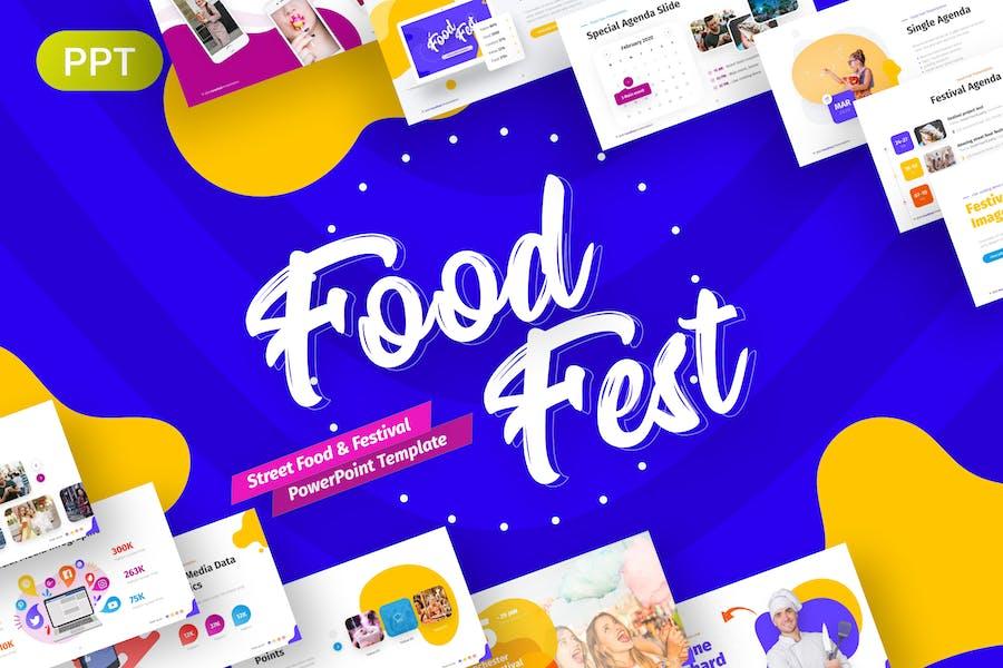 FoodFest Creative Festival Presentation Template