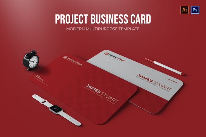 Project Manager - Business Card