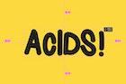 Acids Font