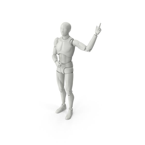 Thumbnail for Posed Male Figure