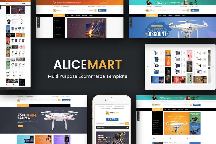 Thumbnail for Alice - Multipurpose Responsive Magento Theme