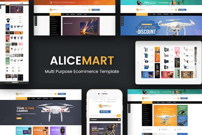 Thumbnail for Alice - Multipurpose Responsive Magento Thème