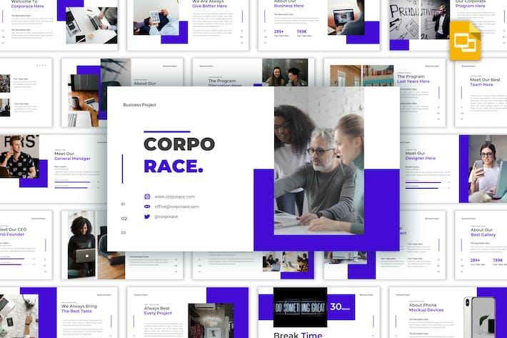 Thumbnail for Corporace - Business Google Slides Template