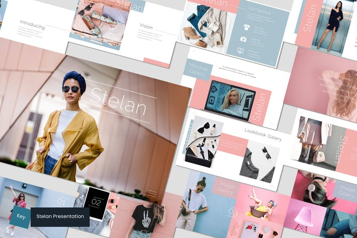 Cover Image For Stelan - Keynote Template