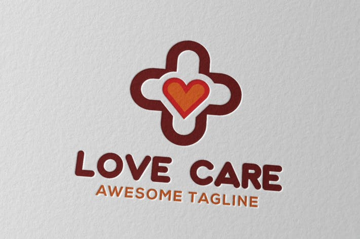 Cover Image For Love Care Logo