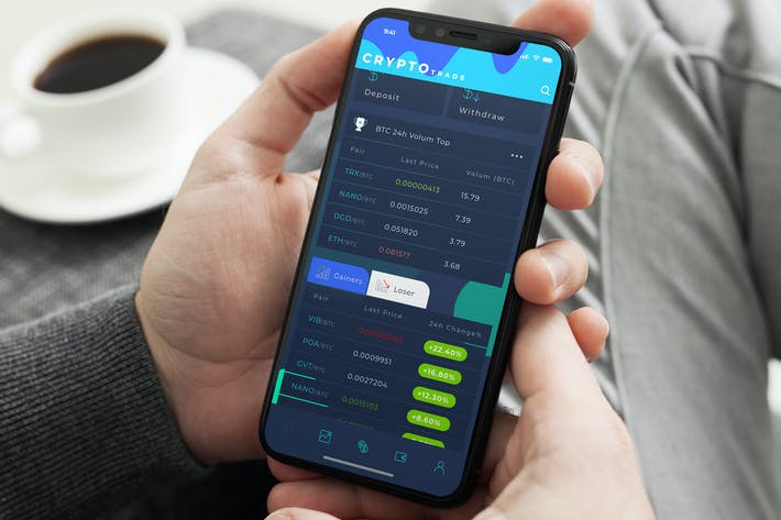 Thumbnail for Crypto Trade Home 2 Part 2 Mobile Ui