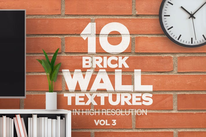 Thumbnail for Brick Wall Textures x10 Vol 3