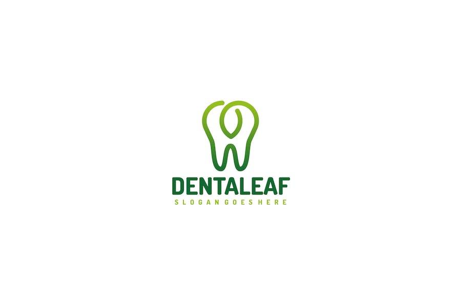 Dental Leaf Logo