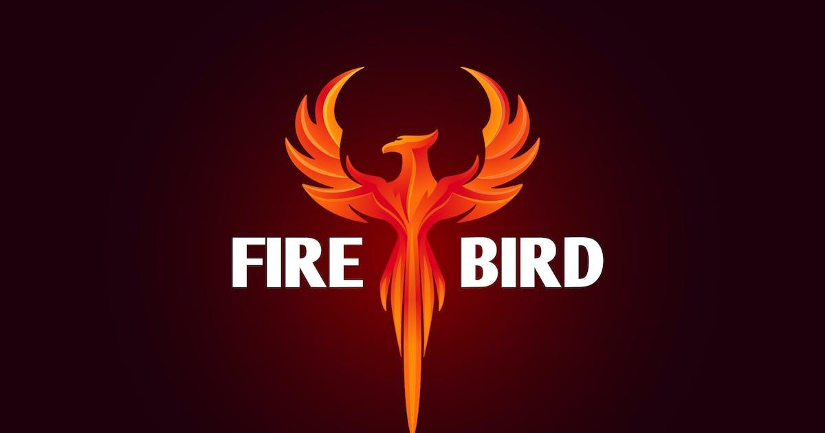 Download Firebird - Modern Vivid Phoenix Logo by Suhandi