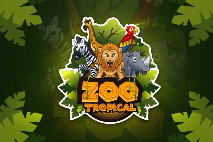 Thumbnail for Zoo Tropical - Mascot & Esport Logo