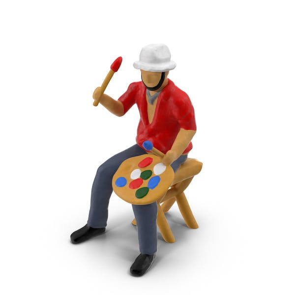 Miniature Toy Artist