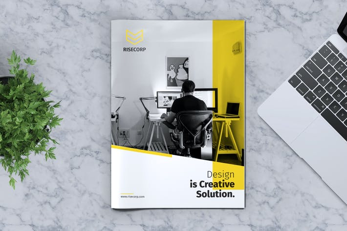 Thumbnail for Creative Brochure Template Vol. 27
