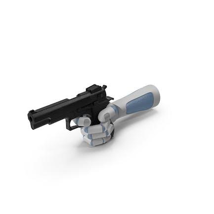 RoboHand Pointing a Gun