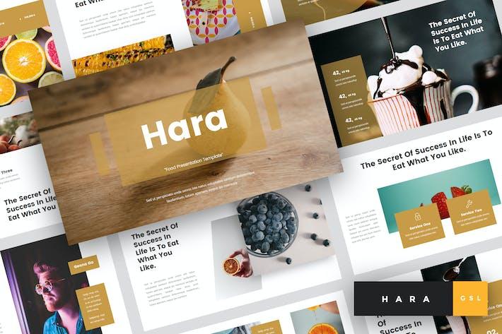 Thumbnail for Hara - Food Google Slides Template