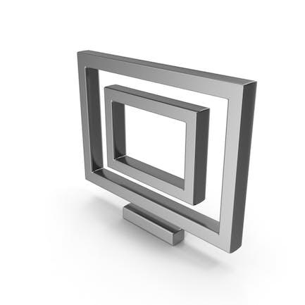 Symbol Monitor Steel