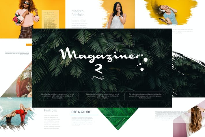 Thumbnail for MAGAZINE 2 Keynote