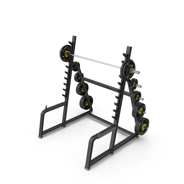 Squat Rack Station