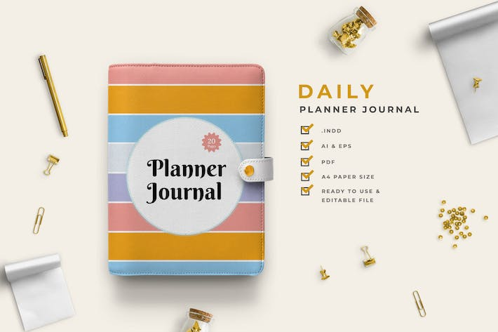 Thumbnail for Hevva - Work Daily Planner Journal