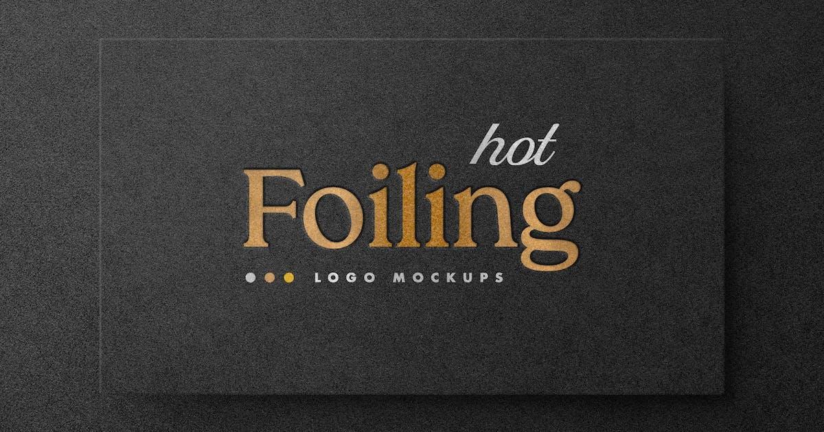 Download Hot Foil Logo Mockups by pixelbuddha_graphic