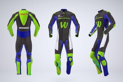 Motorbike  Racing Suit  Mock-Up