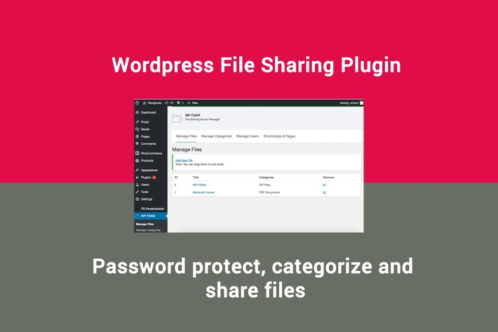 Thumbnail for Wordpress File Sharing Plugin
