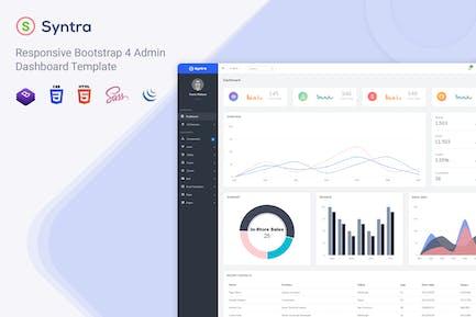 Syntra - Responsive Bootstrap 4 Admin Dashboard