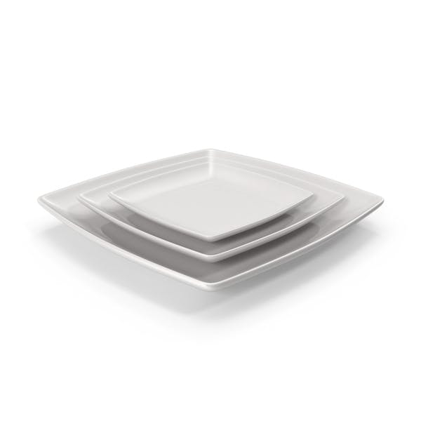 Cover Image for Ceramic Serving Plate Set